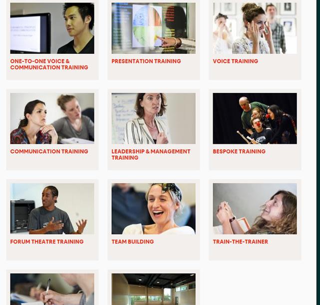 イギリスの俳優メソッドのビジネストレーニング化は進んでいる